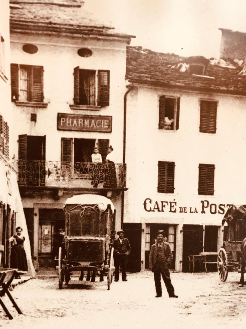 Photo Vintage - Pharmacie de Bagnes